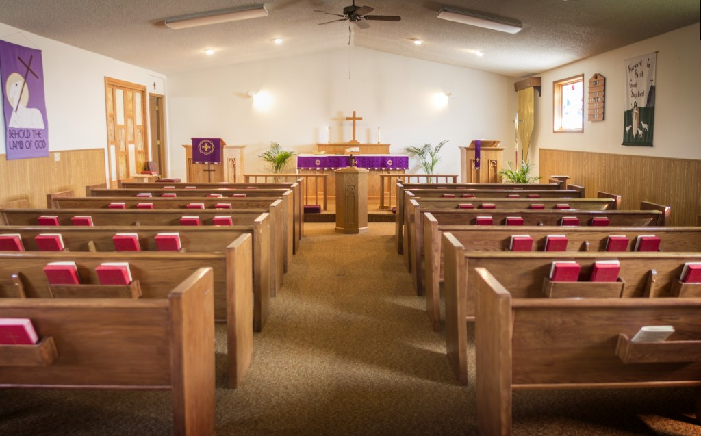 Good Shepherd Sanctuary at Lent